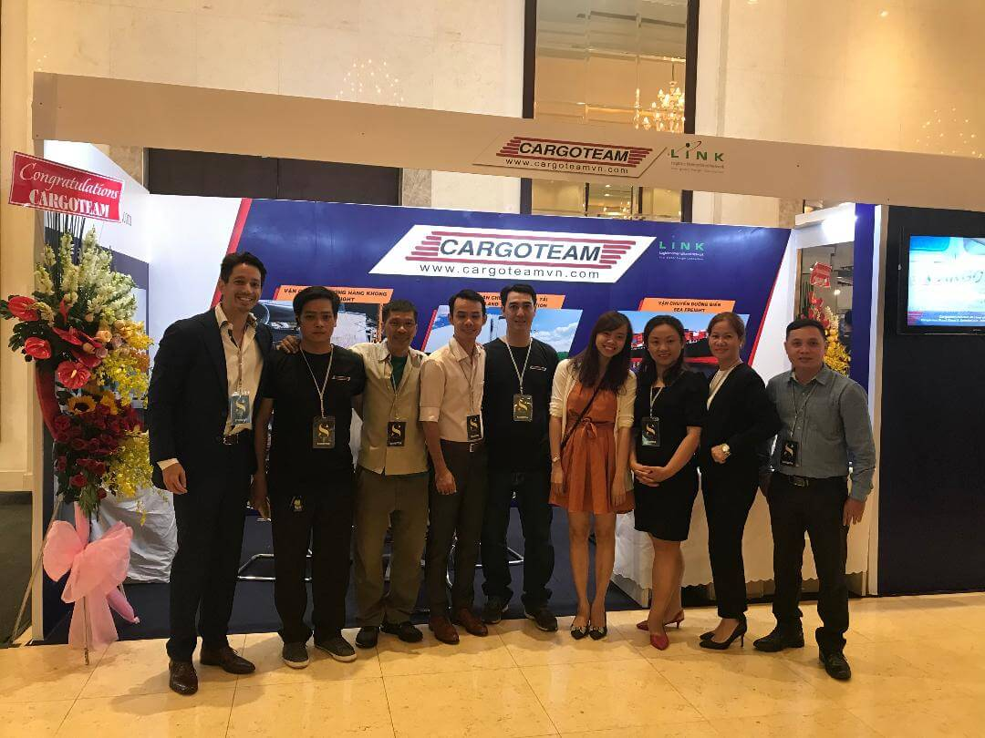 Successful Eurosphere exhibition 2018 handled by Cargoteam with the support of LINK group.